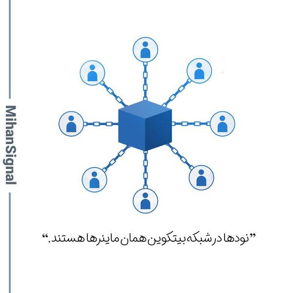 نودهای شبکه بیتکوین