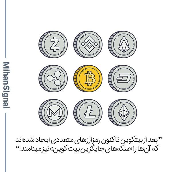 ماجرای سکههای جایگزین بیتکوین