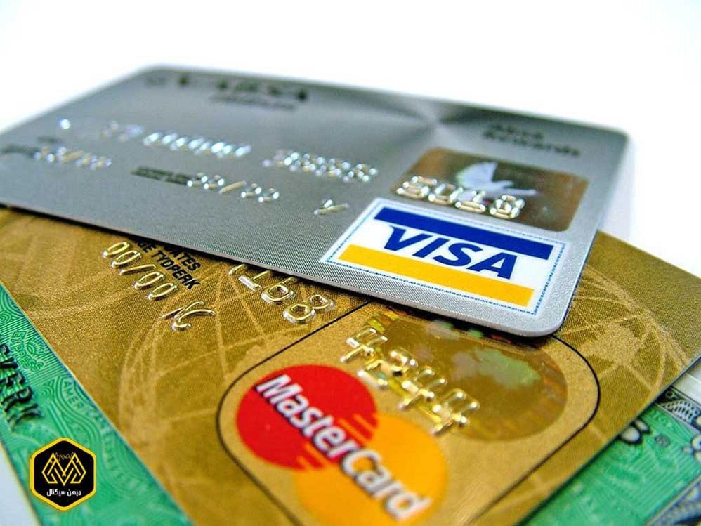تصویر ویزا کارت و مستر کارت - میهن سیگنال