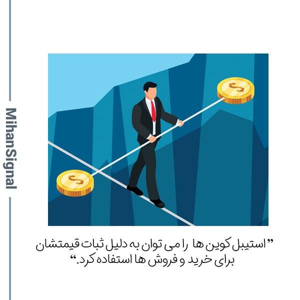 استیبل به معنی پایداری و تعادل است.