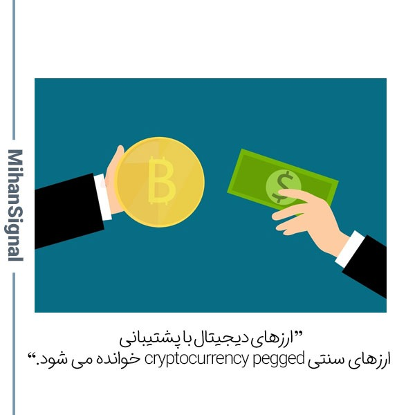 ارز پشتیبانی می تواند پول یا طلا باشد.