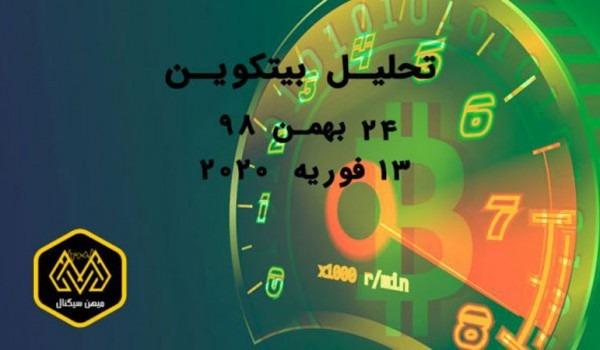تحلیل بیتکوین 24 بهمن 98