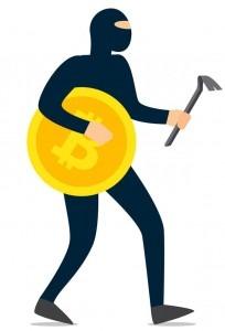 مردی با قصد سرقت ارزهای دیجیتال