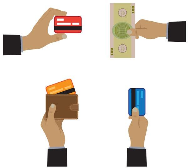 روش های پرداخت برای شارژ کیف پول
