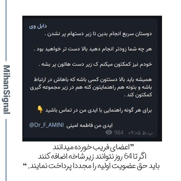 متاسفانه بعضی کاربران ایرانی فریب القاب دکتر و مهندس را در پروژه دابل وی میخورند!