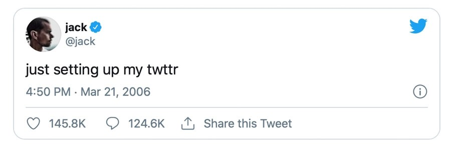 اولین توئیت جک دورسی
