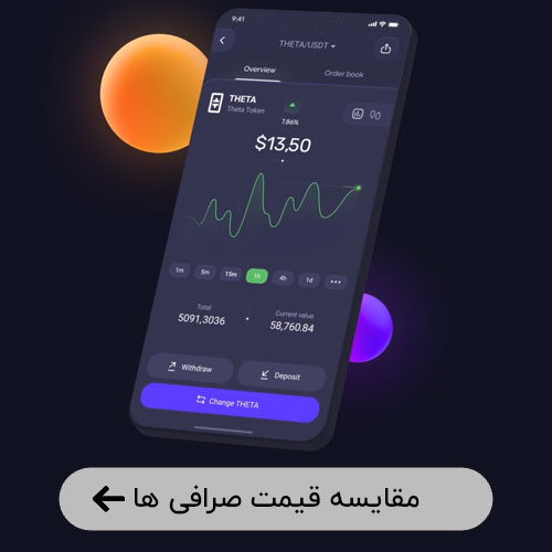 مقایسه قیمت ارزهای دیجیتال در صرافی های ایرانی