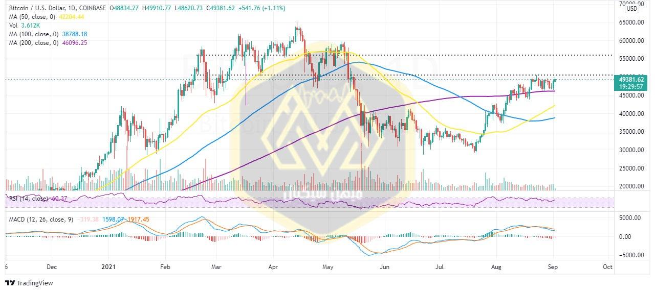 نمودار یکروزه قیمت ریپل / دلار